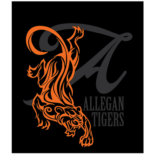 Allegan Tigers Shirt Art