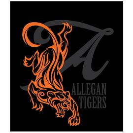 Allegan Tigers Shirt Art