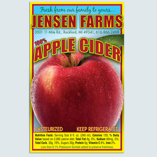RPS Cider Label