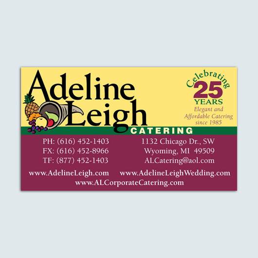 Adeline Leigh Logo & Business Card