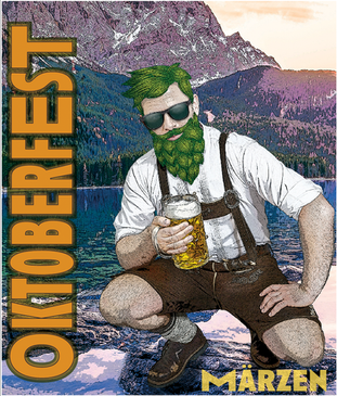 Oktoberfest Label for Tantrick Brewing Co.