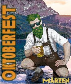 Oktoberfest Label for Tantrick Brewing Co.