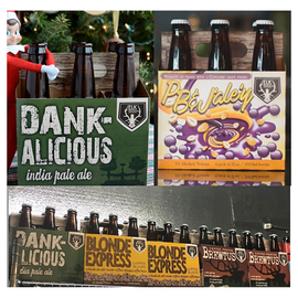 Elk Brewing Label & Packaging Design