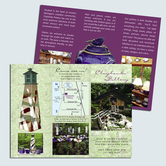 Claybanks Trifold Brochure