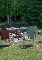 Fire pit for bonfires