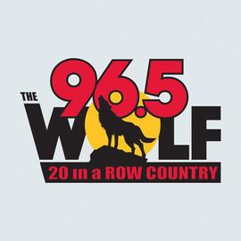 Wolf 96.5 Logo Design