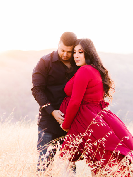 Selena + Juan - Maternity Sunset Session
