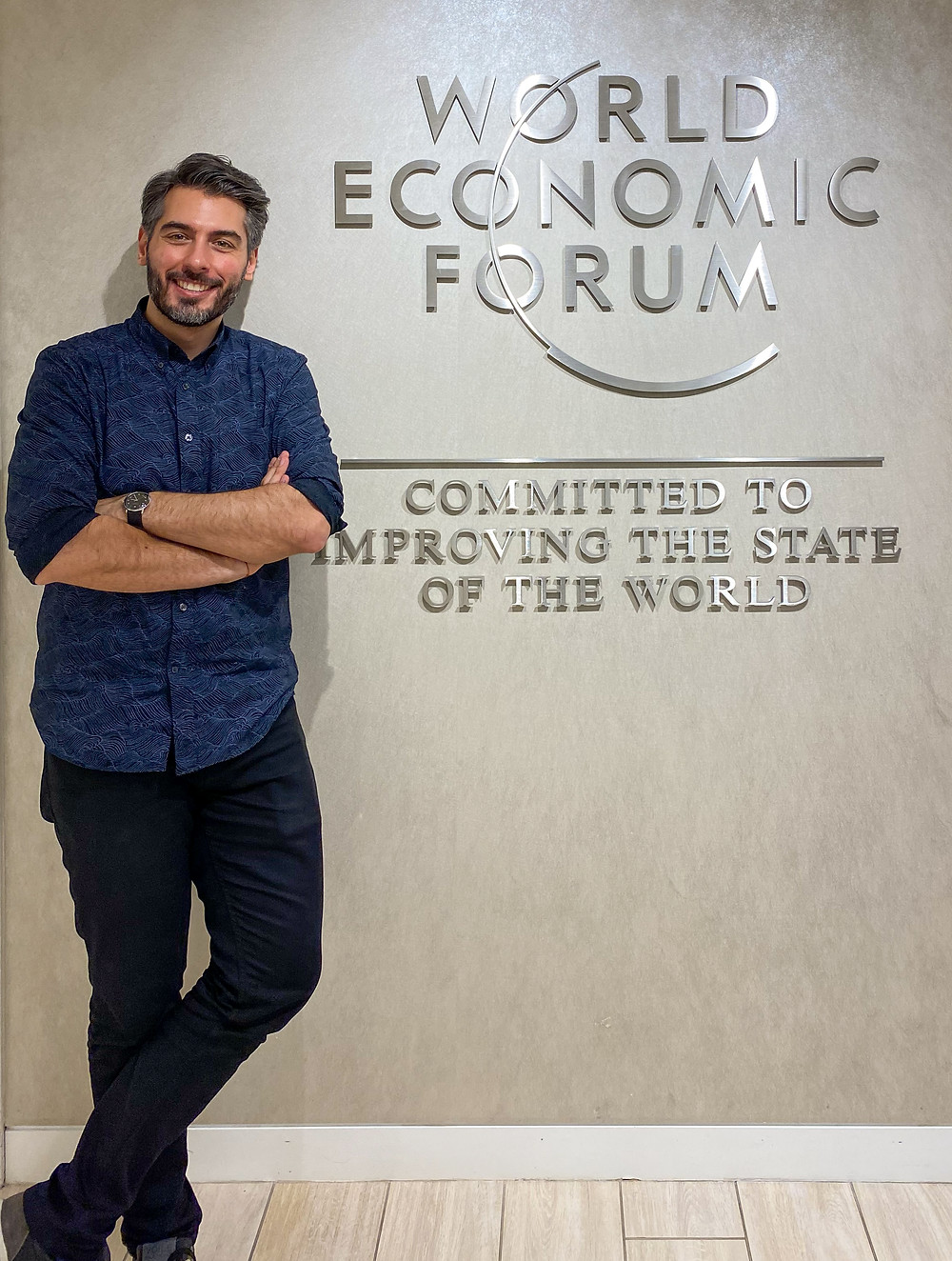 Giancarlo Pitocco speaking at World Economic Forum
