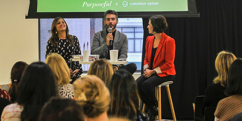 Common Sense Conversation featuring Purposeful: Digital Wellbeing in Extraordinary Times