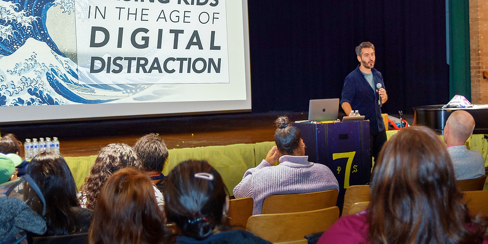 Screenagers Documentary Viewing for Families + Digital Wellbeing Q&A With Giancarlo