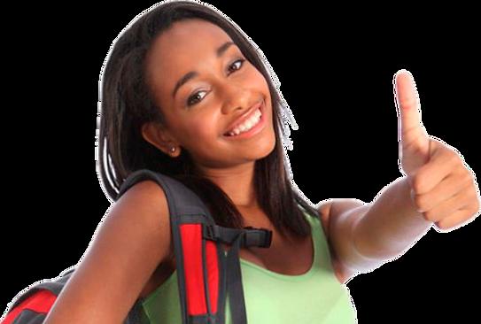 78-784657_gmat-african-american-girl-png