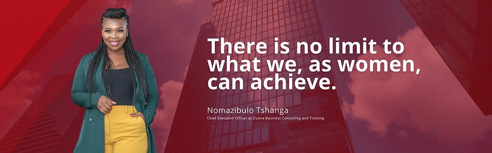Nomazibulo Tshanga_CEO_Ziyana Business Consulting & Training