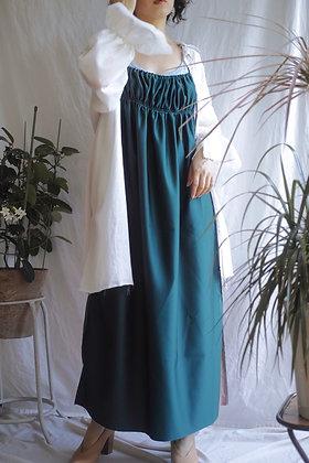 gathered cami dress