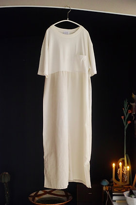 T-shirt dress (off white mix)