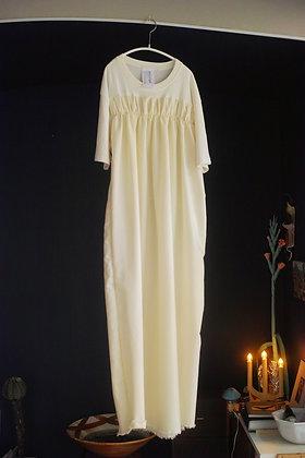 T-shirt dress (ivory mix)