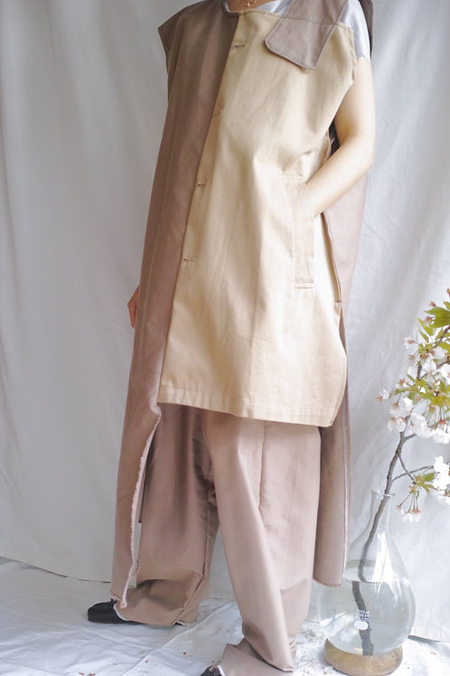 trench mix dress