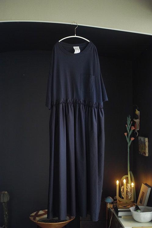 T-shirt dress  (navy mix)