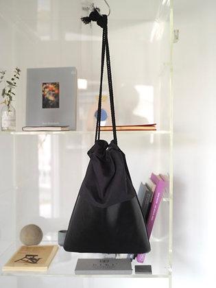 drawstring bag(navy, black)