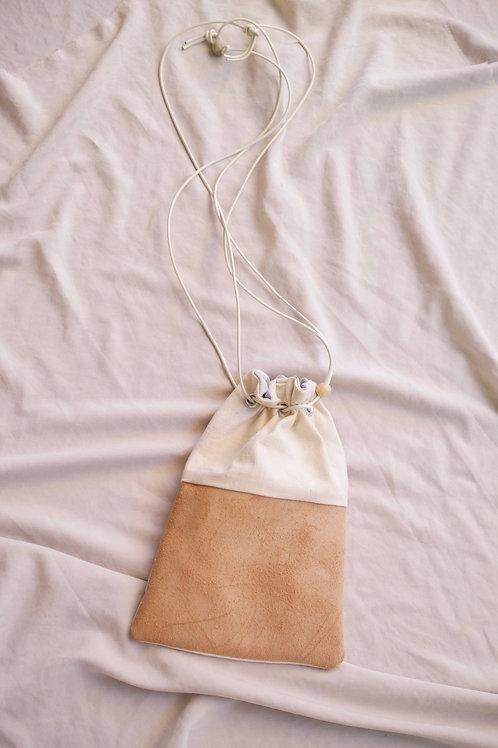 drawstring bag (canvas/tan)