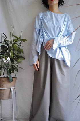 shirred cotton top