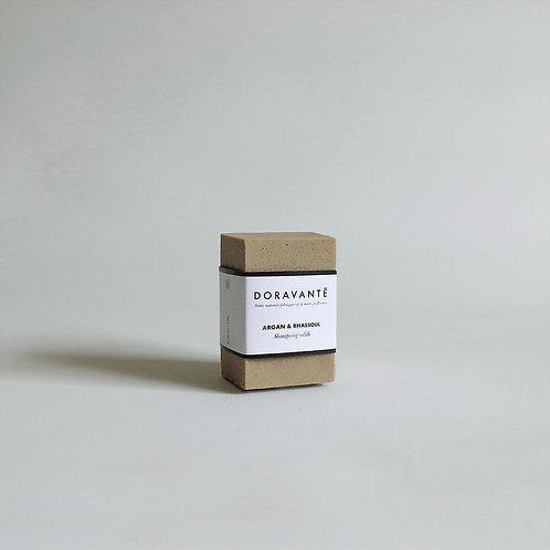 Le Shampoing Solide Argan & Rhassoul