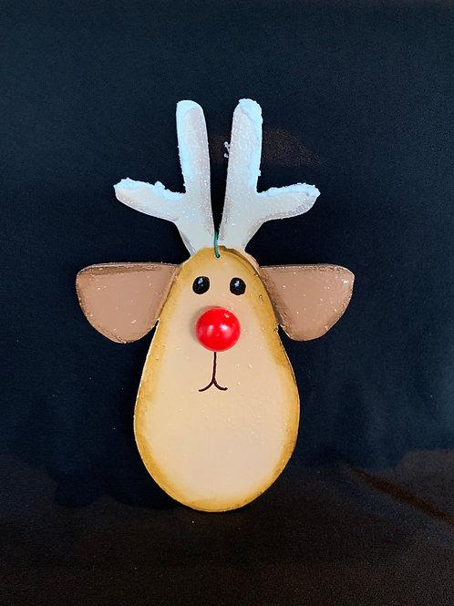 Long antlers reindeer