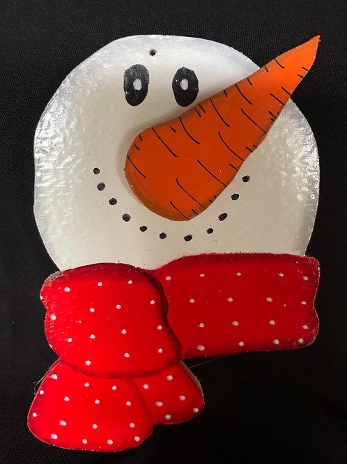 scarf snowman