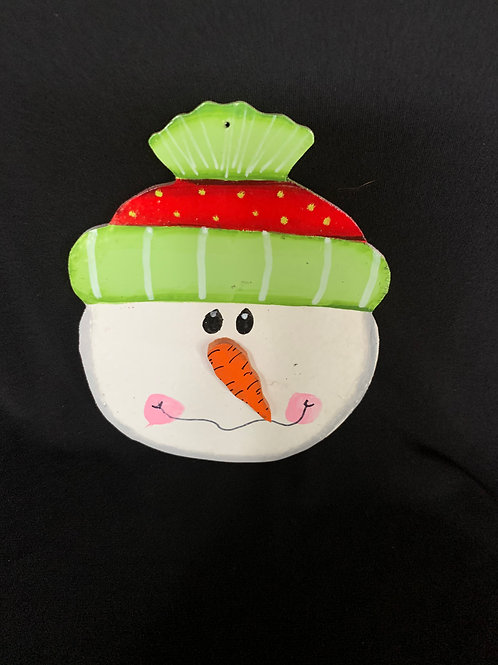 stocking cap snowman