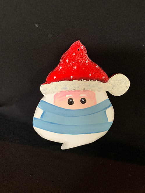 face mask Santa