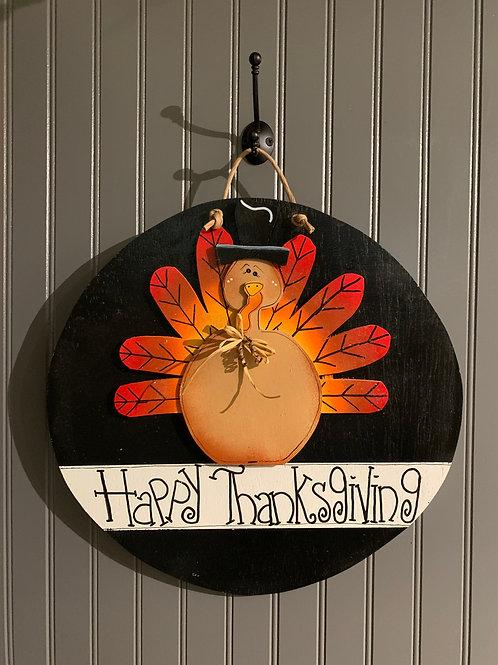 Turkey round door decor