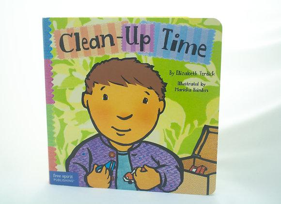 Livro de história - Clean-Up Time