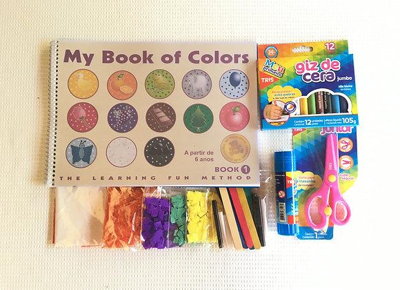 My Book of Colors 1 com kit colagem