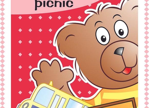 Livro - B.B Bear goes to the picnic