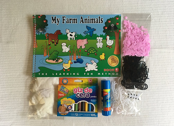 My Farm Animais 1 com kit colagem