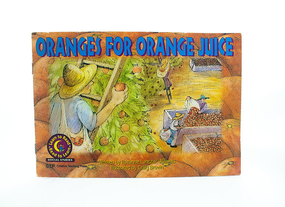 Livro de historia - Oranges for orange juice