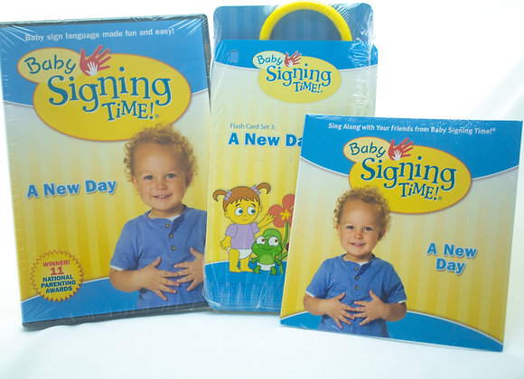 Baby Signing Time - A New Day  ( Dvd + Cd + Card)