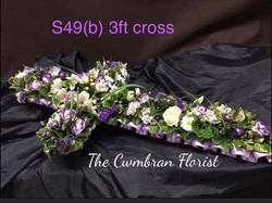 3ft Cross Funeral