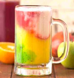 عصير مشكل طبقات