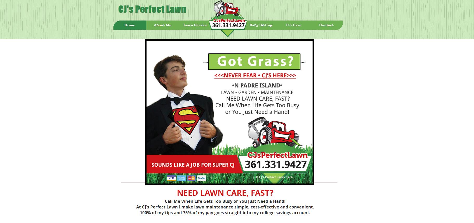 Cj's Perfect Lawn