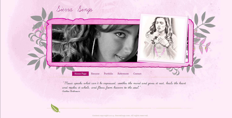 Sierra Sings