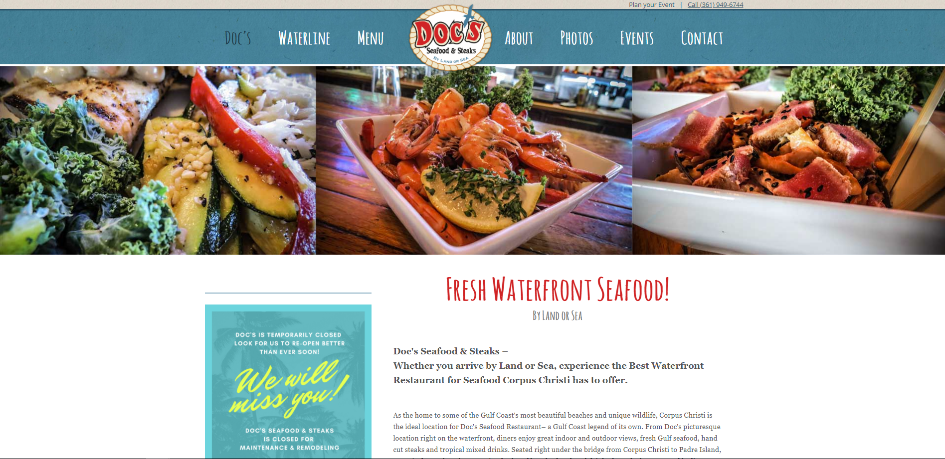 Doc's Seafood and Steaks