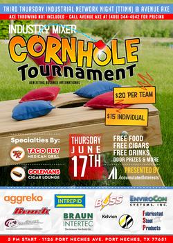 Third Thursday Industrial Network Night Inaugural Cornhole Tournament
