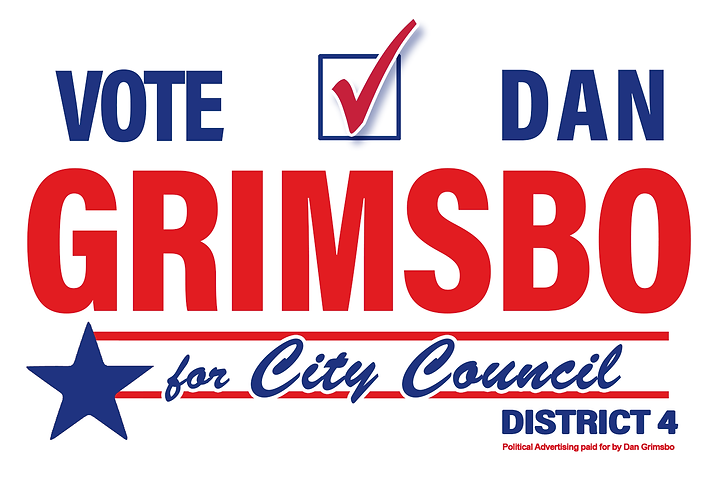 Dan Grimsbo for Corpus Christi City Coun
