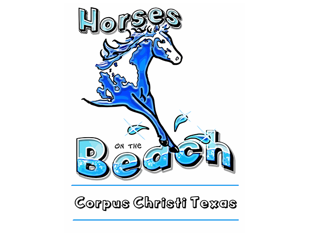 Horses on the Beach Logo