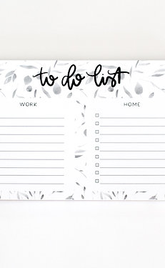 To Do List Notepad: work and home