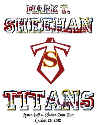 Mark T. Sheehan High School Swim Meet Program