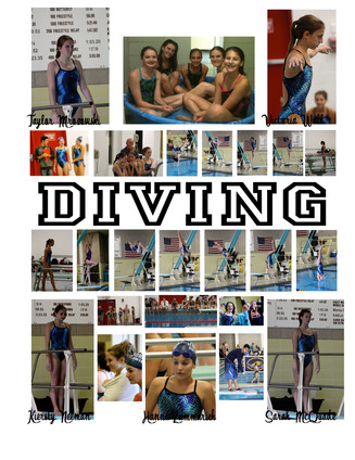 LHHS Diving Team Photos