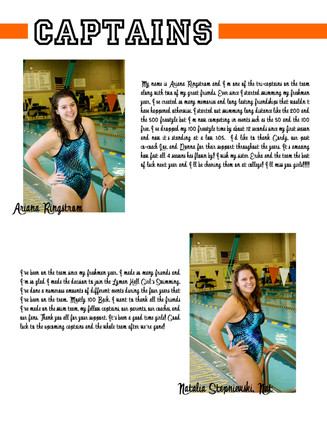 LHHS Swim Team Captains