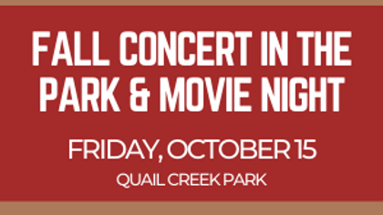 Concert in the Park & Movie Night