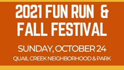 2021 Fun Run & Fall Festival
